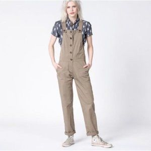 Bridge & Burn for Wildfang Bie Overall Green Small